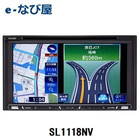 カーナビゲーション ソーリン 180mmモデル ワンセグ Bluetooth オーディオ一体型 SL1118NV