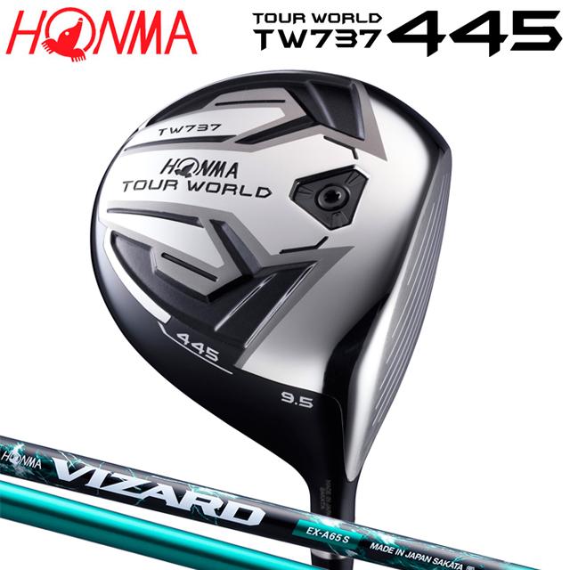 【送料無料】ホンマ ツアーワールド TOUR WORLD TW737 445 ドライバー VIZARD EX-A シャフト