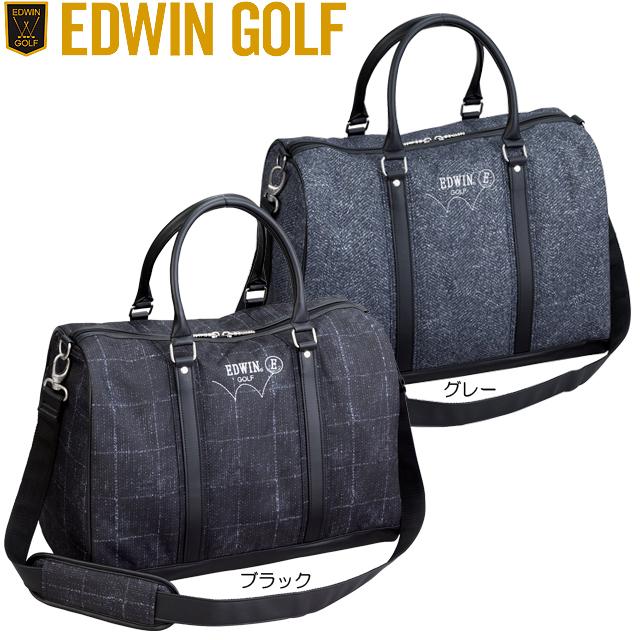 【送料無料】 EDWIN GOLF エドウィン ゴルフ ボストンバック EDWIN-137