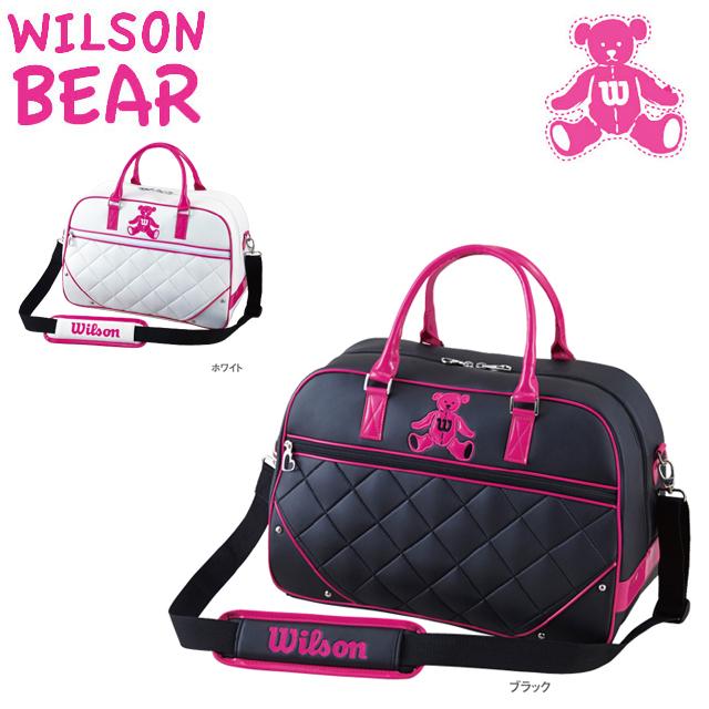 【送料無料】 WILSON BERA ウィルソン ベア レディス ボストンバッグ BEAR-111