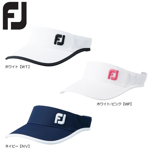 日本正規品 送料無料 メール便 FOOTJOY レディス ご予約品 フットジョイ 無料 FJWHW1812 FJWOベーシックサンバイザー