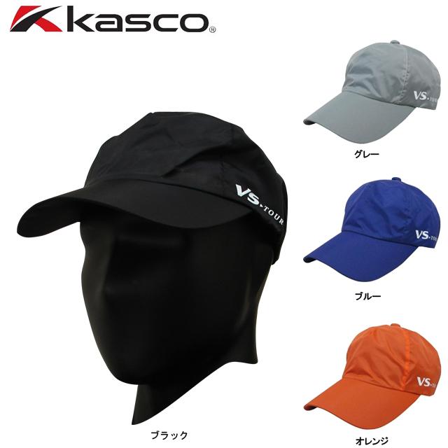 送料無料 メール便 特価 kasco キャスコ メンズ レインウエア 低廉 安心と信頼 VSRC-1535 VSRC1535 キャップ VS-TOUR レイン