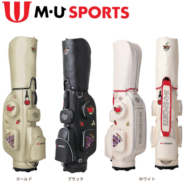 【送料無料】MU SPORTS キャディバッグ 703V2102