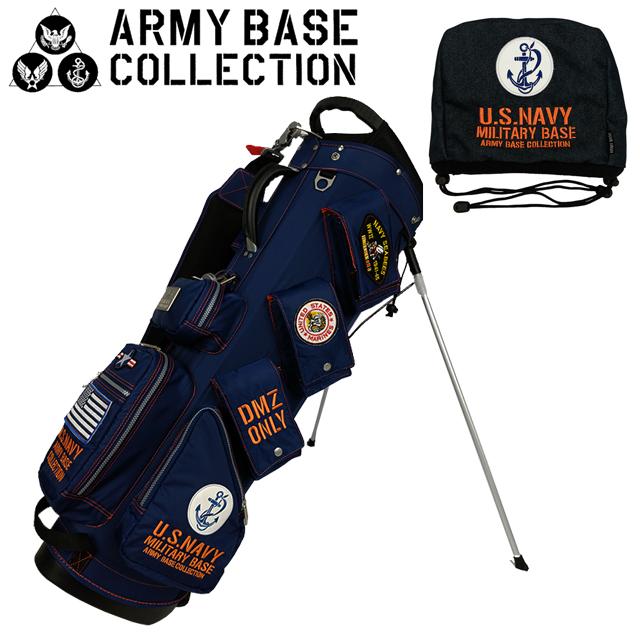 【送料無料】ARMY BASE COLLECTION スタンド キャディバッグ アーミーベースコレクション ABC-013SB