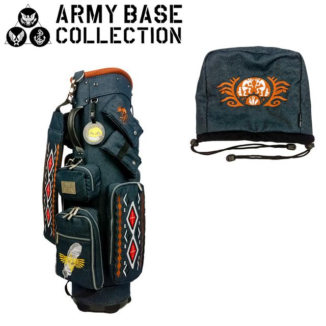 【送料無料】【2017年モデル】ARMY BASE COLLECTION キャディバッグ アーミーベースコレクション ABC-015CB