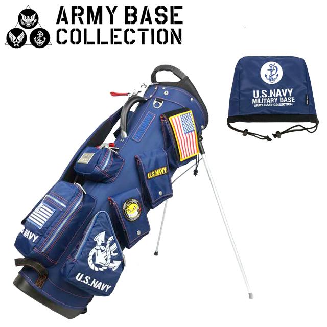 【送料無料】ARMY BASE COLLECTION スタンド キャディバッグ アーミーベースコレクション ABC-018SB