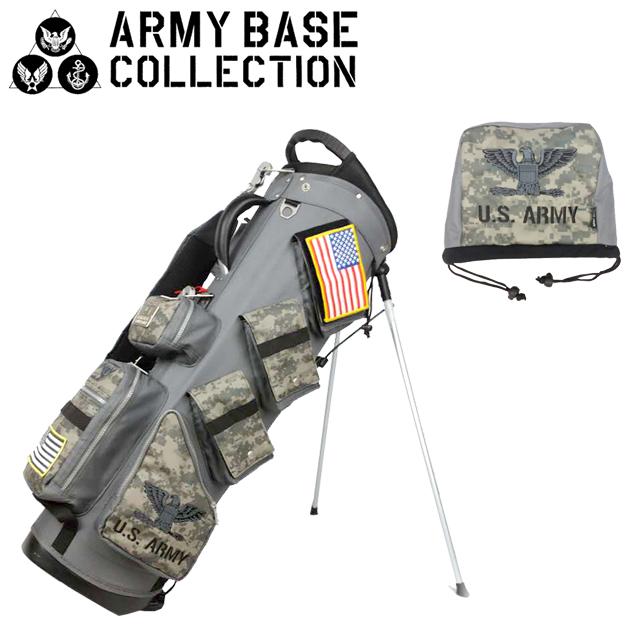 【送料無料】ARMY BASE COLLECTION スタンド キャディバッグ アーミーベースコレクション ABC-019SB