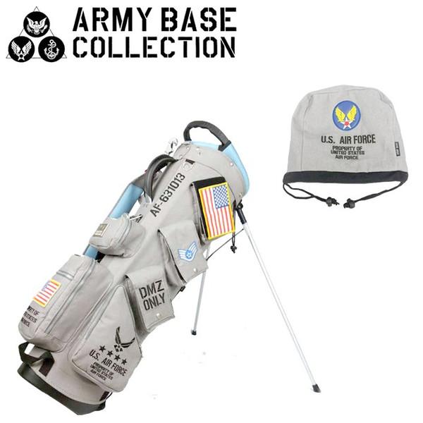 【送料無料】ARMY BASE COLLECTION スタンド キャディバッグ アーミーベースコレクション ABC-021SB