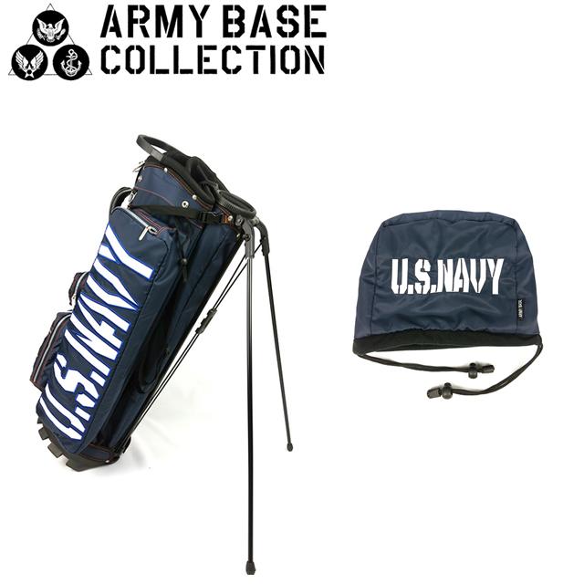 【送料無料】ARMY BASE COLLECTION スタンド キャディバッグ アーミーベースコレクション ABC-022SB ABC022SB