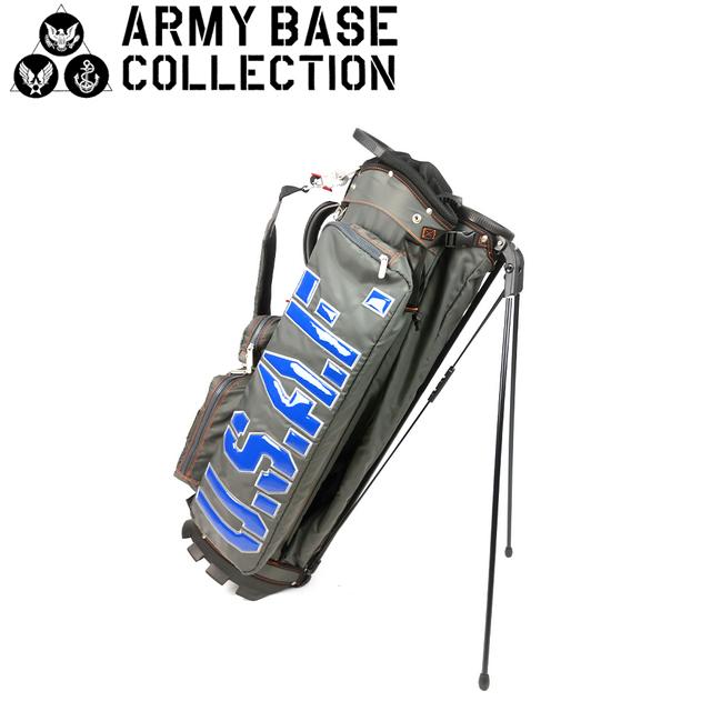 【送料無料】ARMY BASE COLLECTION スタンド キャディバッグ アーミーベースコレクション ABC-023SB ABC023SB