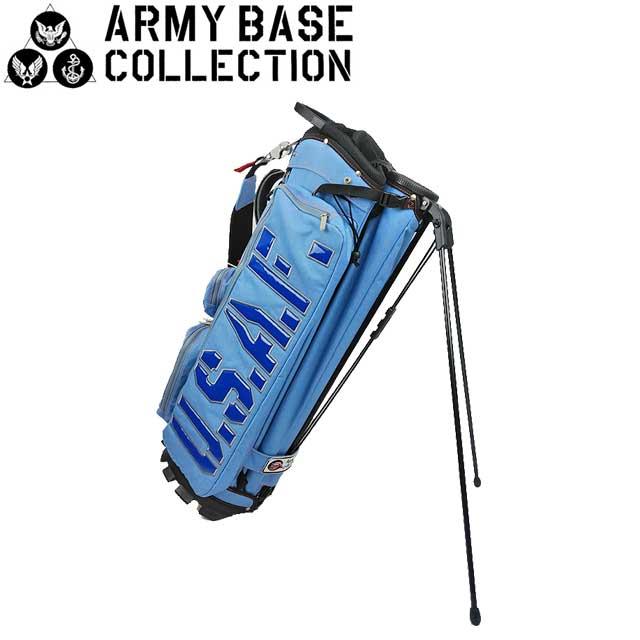 【送料無料】ARMY BASE COLLECTION スタンド キャディバッグ アーミーベースコレクション ABC-026SB ABC026SB