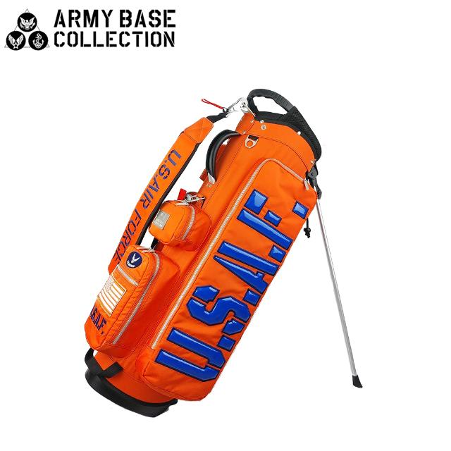 【送料無料】ARMY BASE COLLECTION スタンド キャディバッグ アーミーベースコレクション ABC-030SB ABC030SB