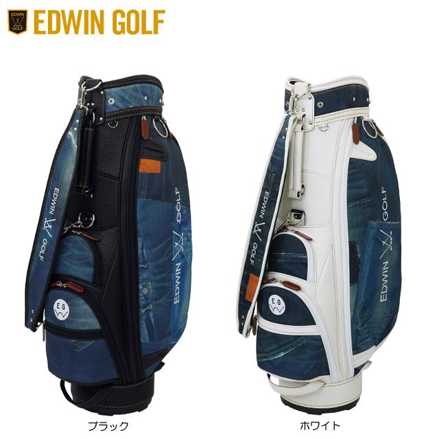 【送料無料】【2019年モデル】EDWIN GOLF エドウィン ゴルフ キャディバッグ EDWIN-041