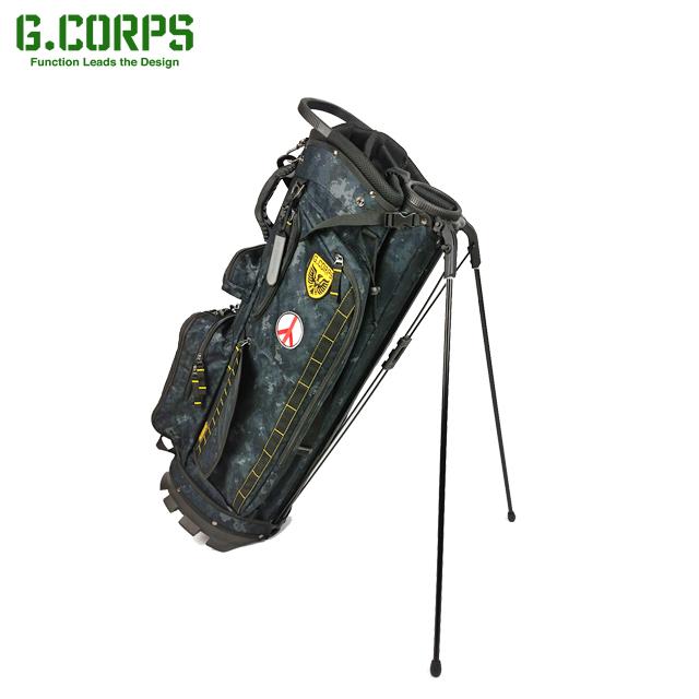 【送料無料】G.CORPS ジーコープス スタンドキャディバッグ LAUNCHER STAND BAG GC0008