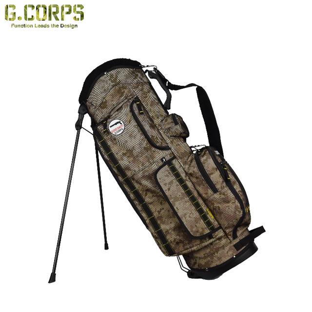 【送料無料】G.CORPS ジーコープス スタンドキャディバッグ LAUNCHER STAND BAG GC0011 GC-0011
