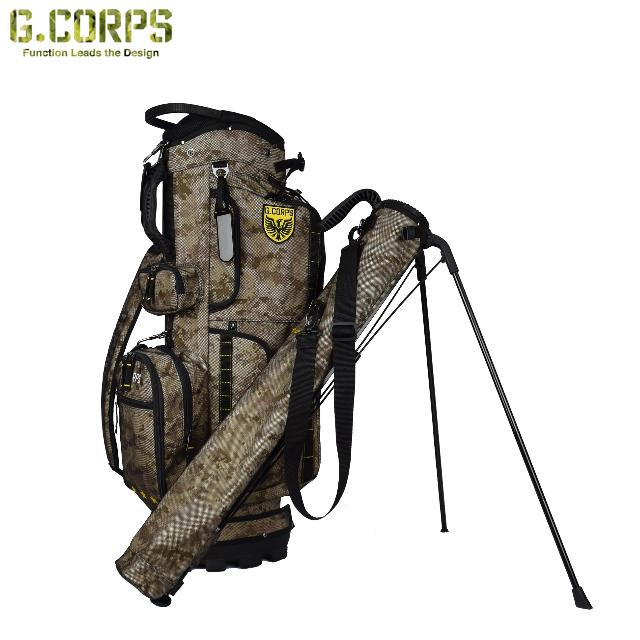 【送料無料】G.CORPS ジーコープス スタンドキャディバッグ LAUNCHER STAND BAG (C2B2-SYSTEM) GC0012 GC-0012