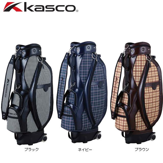 【送料無料】 キャスコ キャスター付 キャディバッグ KS-088