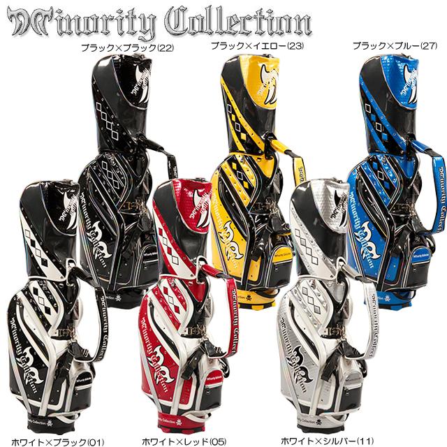 【送料無料】【2017年モデル】Minority Collection マイノリティ コレクション MC-Halogen キャディバック 10711