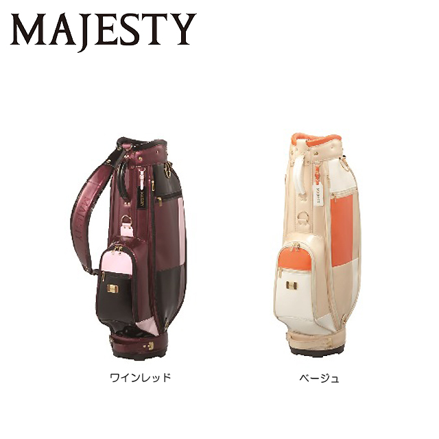 【送料無料】マルマン MAJESTY マジェスティ レディス キャディバッグ CB6620