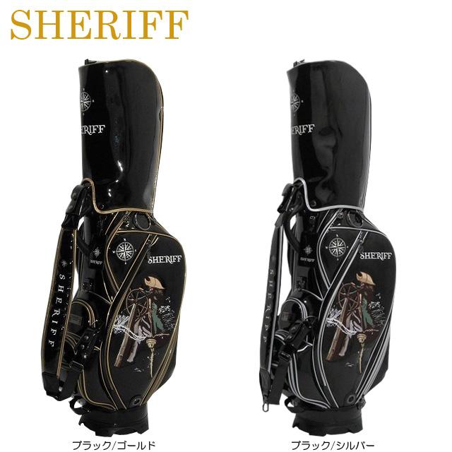 【送料無料】【2019年モデル】【海賊シリーズ】SHERIFF シェリフ 数量限定モデル カート キャディバッグ SKZ-005