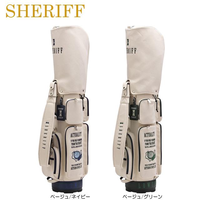 【送料無料】【クラシックシリーズ】SHERIFF シェリフ 数量限定モデル コンパクト キャディバッグ SFC-009