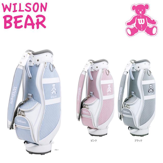【送料無料】 WILSON BERA ウィルソン ベア レディス キャディバッグ BEAR-010