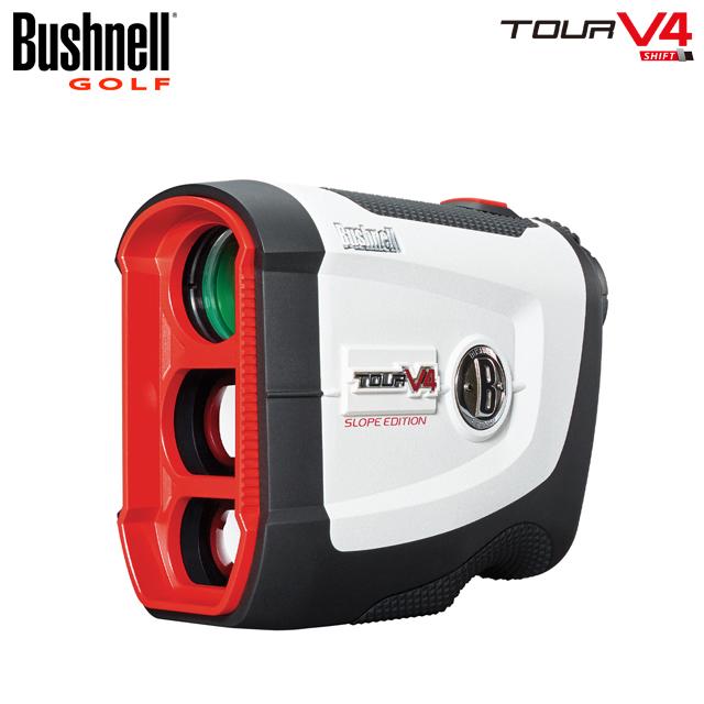 【送料無料】【日本正規品】【2019年モデル】Bushnell golf ブッシュネル ゴルフ用レーザー距離計 ピンシーカーツアー V4 シフト ジョルト スロープスイッチ機能搭載