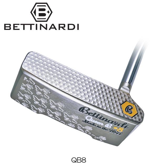 【送料無料】【日本正規品】【2018年モデル】BETTINARDI ベティナルディ Queen B SERIES QB8 パター