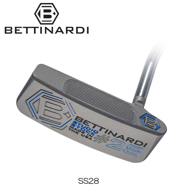 【送料無料】【日本正規品】【2018年モデル】BETTINARDI ベティナルディ Studio Stock SERIES SS28 パター