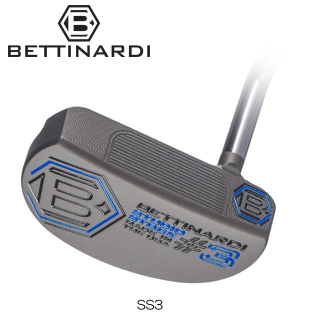 【送料無料】【日本正規品】【2018年モデル】BETTINARDI ベティナルディ Studio Stock SERIES SS3 パター