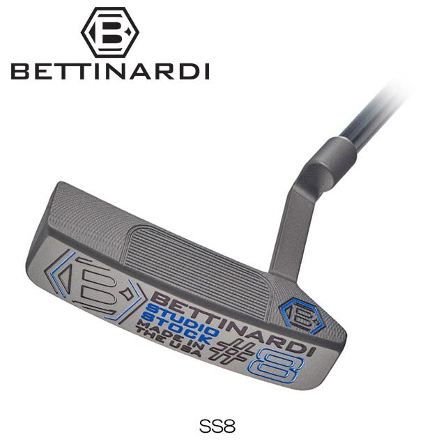 【送料無料】【日本正規品】【2018年モデル】BETTINARDI ベティナルディ Studio Stock SERIES SS8 パター