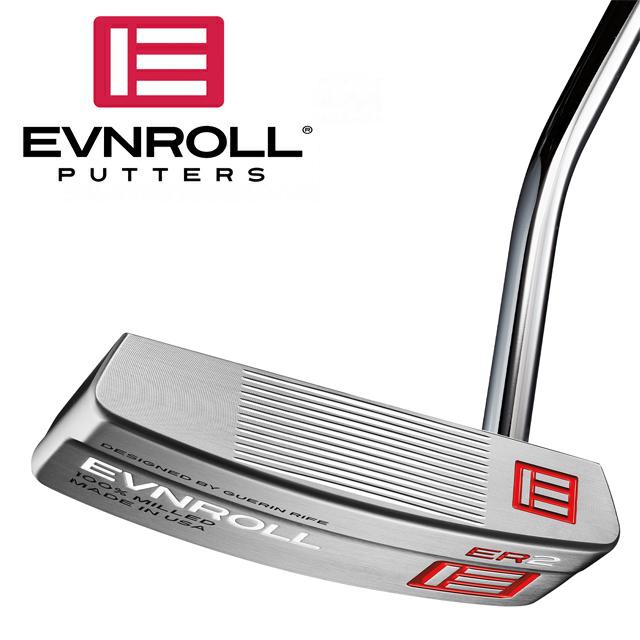 【送料無料】【日本正規品】【2018年モデル】EVNROLL イーブンロール パター ER2 ミッドブレード (ノンテーパー 1.2グリップ)