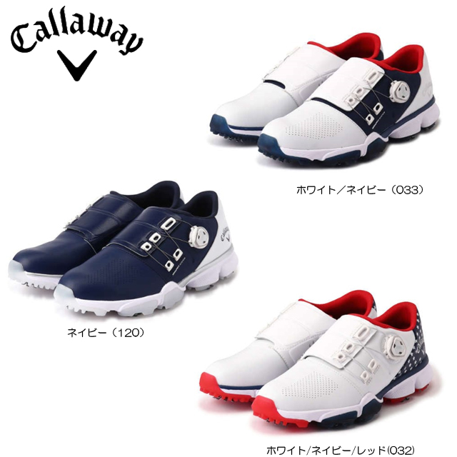 【送料無料】【日本正規品】【2020年継続モデル】Callaway キャロウェイ ハイパーシェブ ボア メンズ ゴルフシューズ 0983500 HYPERCHEV BOA