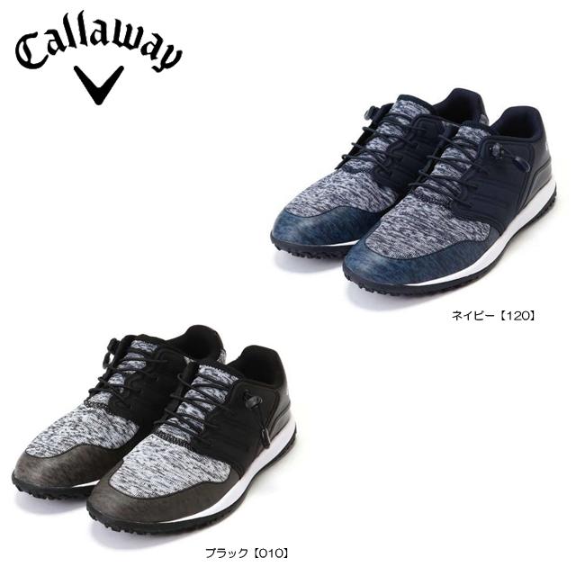 【送料無料】【日本正規品】【2019年モデル】Callaway キャロウェイ HEXAKNIT ヘクサニット メンズ ゴルフシューズ 0983501