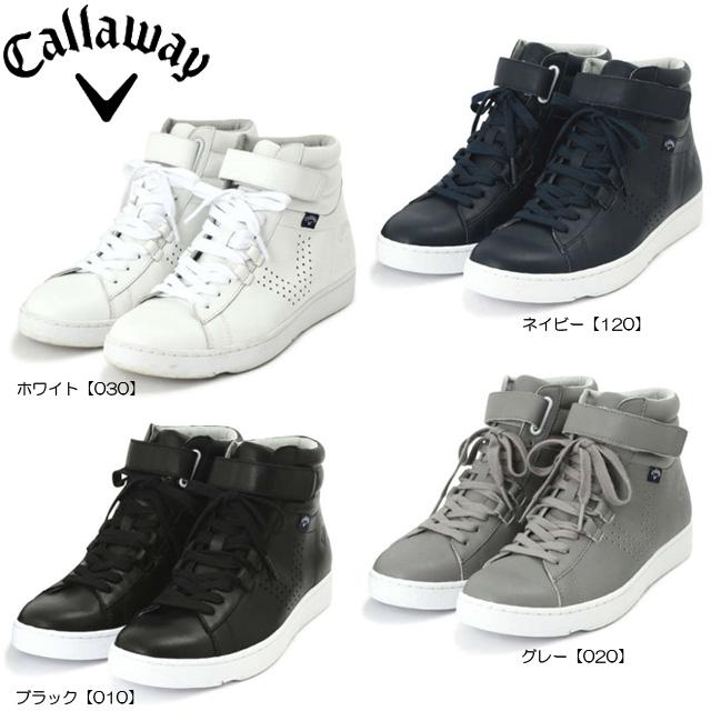 【送料無料】【日本正規品】【2018年モデル】Callaway キャロウェイ SELECT メンズ ハイカット スパイクレスシューズ 8983003
