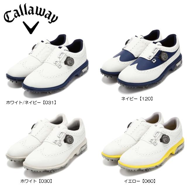 【送料無料】【日本正規品】【2018年モデル】Callaway キャロウェイ ゴルフシューズ レディス TOURPRECISION BOA 18 WM 8983800 ツアープレシジョン ボア