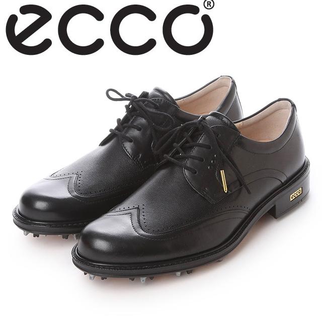 【送料無料】ECCO エコー MENS GOLF WORLD CLASS【140014-51707】(BLACK/BLACK) メンズ ゴルフシューズ