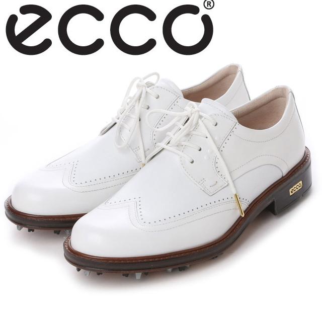 【送料無料】ECCO エコー MENS GOLF WORLD CLASS【140014-53301】(WHITE/WHITE) メンズ ゴルフシューズ