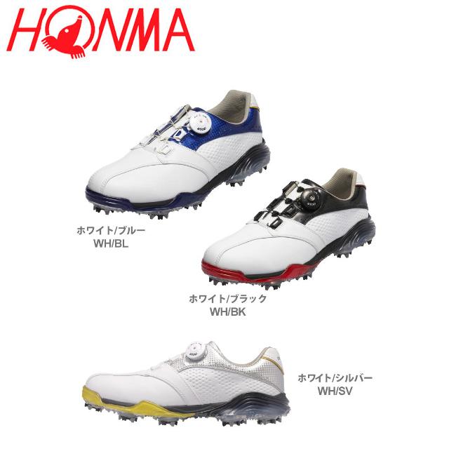 【送料無料】 ホンマ SS-1602 ダイヤル式 ゴルフシューズ