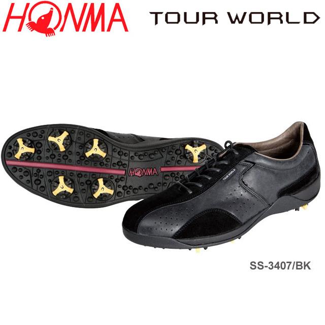 爆売り! 【送料無料】 WORLD ホンマ TOUR TOUR ゴルフシューズ WORLD ツアーワールド SS-3407 ゴルフシューズ, akiriko:385cbfb0 --- construart30.dominiotemporario.com