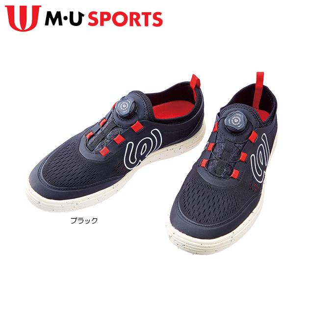 【送料無料】【2019年モデル】MU SPORTS ダイヤル調整 メンズ ゴルフシューズ 703P1650