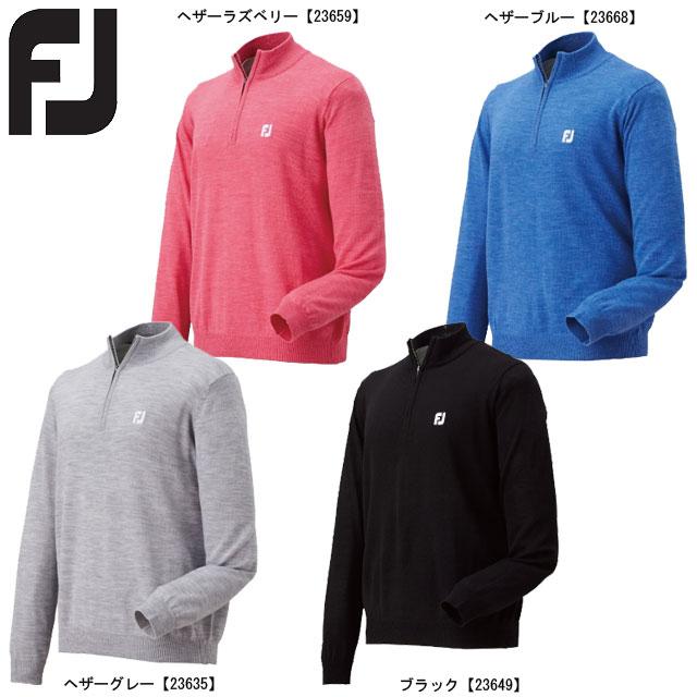 【送料無料】FOOTJOY フットジョイ ハーフジップセーター FJ-F15-M04