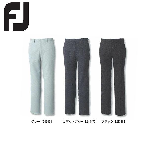【送料無料】 FOOTJOY フットジョイ ブラッシュバックパンツ FJ-F15-P51