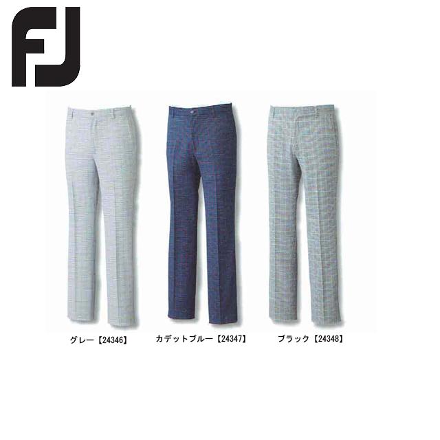【送料無料】 FOOTJOY フットジョイ チェックパンツ FJ-F15-P55