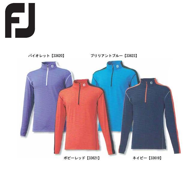 【送料無料 メール便】FOOTJOY フットジョイ ハーフジップシャツ FJ-F15-S59