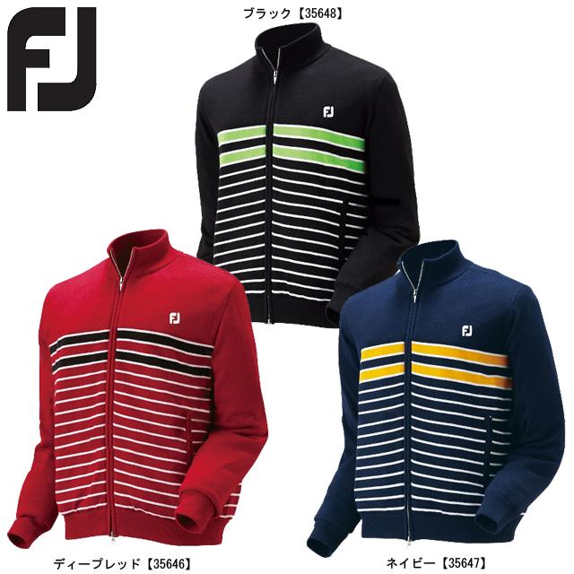 【送料無料】 FOOTJOY フットジョイ フルジップセーター FJ-F16-O54
