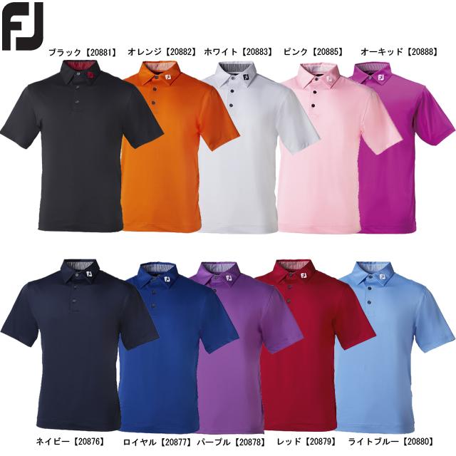 日本正規品 送料無料 メール便 送料無料(一部地域を除く) FOOTJOY エソリッドシャツ FJ-S13-S01 開店記念セール フットジョイ