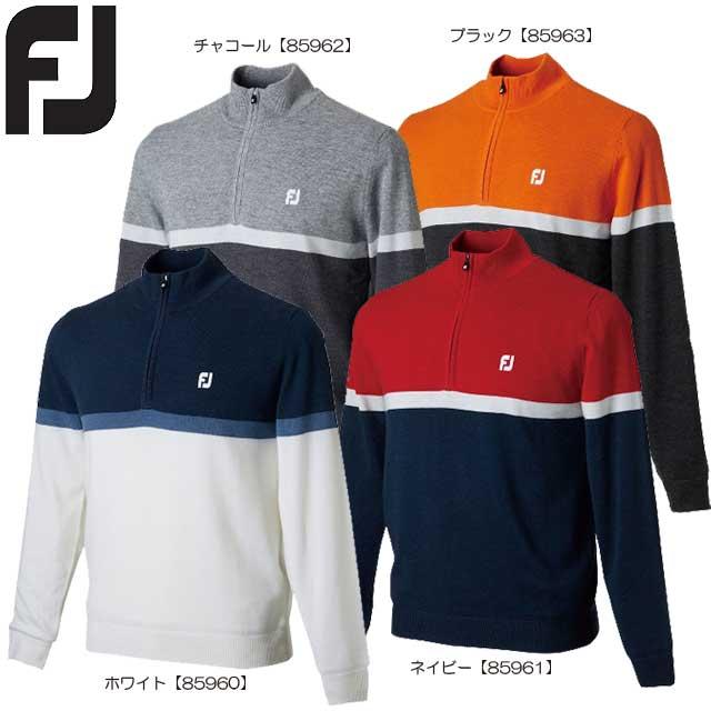 【送料無料】【2018年モデル】 FOOTJOY フットジョイ ハーフジップラインセーター FJ-F18-M11