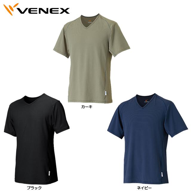 【送料無料】Venex ベネクス フリーフィールクール ショートスリーブVネック メンズ 6619