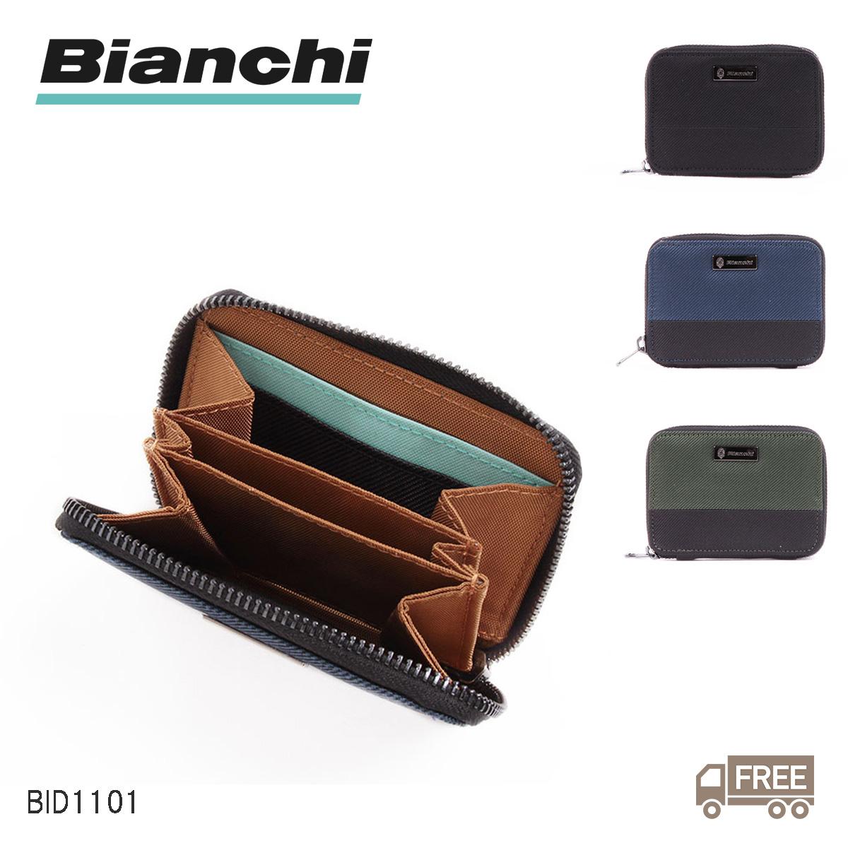 PICCOLO ピッコロ カジュアルウォレットシリーズ Bianchi ビアンキ BID1101 代引き不可 カジュアルウォレット 注目ブランド カードケース ラウンドコインカードケース レディース 送料無料 メンズ シリーズ 名刺入れ